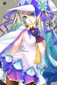 Rating: Safe Score: 23 Tags: hatsune_miku pantyhose togashi vocaloid yuki_miku User: aihost