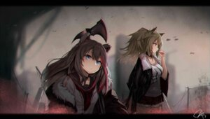 Rating: Safe Score: 16 Tags: 0shino animal_ears arknights siege_(arknights) weapon zima_(arknights) User: BattlequeenYume