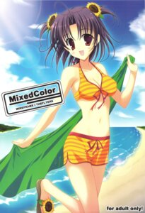 Rating: Questionable Score: 19 Tags: cleavage naruse_mamoru swimsuits the_flyers User: fireattack