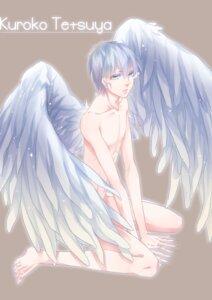 Rating: Questionable Score: 7 Tags: azai kuroko_no_basket kuroko_tetsuya male naked wings User: charunetra