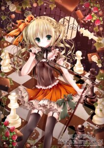 Rating: Safe Score: 55 Tags: gothic_lolita halloween lolita_fashion mubi_alice stockings sword thighhighs User: 椎名深夏