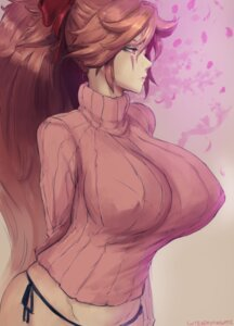 Rating: Questionable Score: 45 Tags: pantsu robutts string_panties sweater User: Radioactive