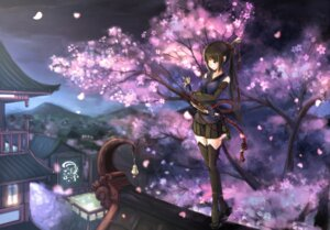 Rating: Safe Score: 56 Tags: kikivi sword thighhighs weapon User: Mr_GT