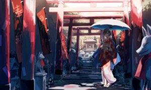 Rating: Safe Score: 28 Tags: kimono tagme umbrella User: BattlequeenYume