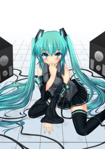 Rating: Safe Score: 28 Tags: hatsune_miku inu3 thighhighs vocaloid User: fireattack