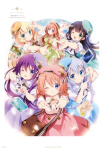 Rating: Safe Score: 12 Tags: gochuumon_wa_usagi_desu_ka? koi User: kiyoe