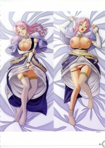 Rating: Explicit Score: 28 Tags: breasts cleavage dakimakura emeralia kyonyuu_fantasy_gaiden lactation megane nipples pantsu panty_pull q-gaku thighhighs waffle User: inchi