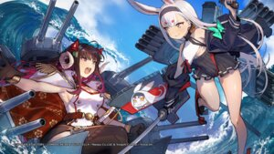 Rating: Safe Score: 24 Tags: animal_ears azur_lane bunny_ears cleavage compile_heart horns idea_factory mephist-pheles no_bra shimakaze_(azur_lane) suruga_(azur_lane) sword thighhighs underboob uniform wallpaper User: Nepcoheart