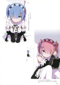 Rating: Safe Score: 41 Tags: maid milky_been! ogipote pantyhose ram_(re_zero) re_zero_kara_hajimeru_isekai_seikatsu rem_(re_zero) User: Hatsukoi