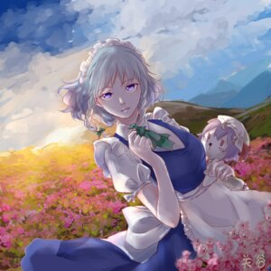 Rating: Safe Score: 19 Tags: autographed gushiny izayoi_sakuya maid touhou User: mash