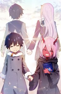 Rating: Safe Score: 28 Tags: darling_in_the_franxx hiro_(darling_in_the_franxx) horns hoshizaki_reita signed uniform zero_two_(darling_in_the_franxx) User: RyuZU