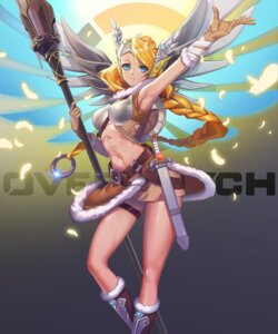 Rating: Safe Score: 25 Tags: armor garter kuromomo mercy_(overwatch) overwatch sword weapon wings User: mash
