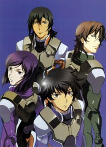 Rating: Safe Score: 2 Tags: allelujah_haptism chiba_michinori gundam gundam_00 lockon_stratos lyle_dylandy male screening setsuna_f_seiei tieria_erde User: harimahario