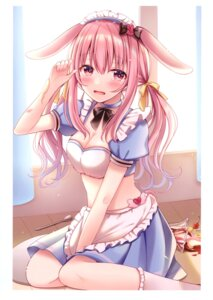 Rating: Safe Score: 31 Tags: animal_ears bunny_ears cleavage hiyoko_sabure maid sakura_hiyori User: kiyoe