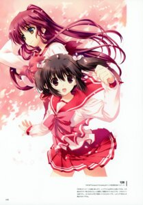 Rating: Questionable Score: 13 Tags: amaduyu_tatsuki kousaka_tamaki mitsumi_misato to_heart_(series) to_heart_2 yuzuhara_konomi User: Radioactive