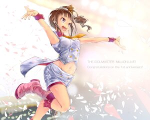Rating: Safe Score: 17 Tags: the_idolm@ster the_idolm@ster_million_live yae_(mono) User: dyj