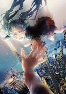 Rating: Safe Score: 21 Tags: hatsune_miku rahwia rolling_girl_(vocaloid) vocaloid User: Radioactive