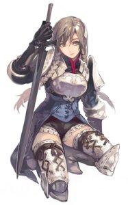 Rating: Safe Score: 14 Tags: armor ravness_loxaerion tactics_ogre thighhighs User: DOCaCola