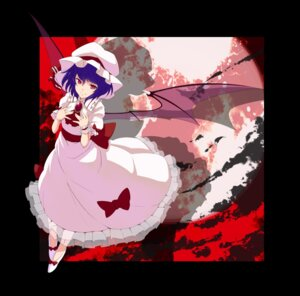 Rating: Safe Score: 6 Tags: dress remilia_scarlet touhou tsuttsu wings User: Nekotsúh
