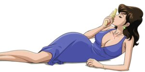 Rating: Questionable Score: 12 Tags: cleavage dress gun lupin_iii mine_fujiko no_bra User: kiu