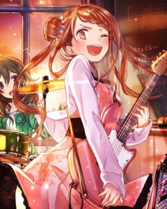Rating: Safe Score: 22 Tags: dress guitar school_fanfare User: saemonnokami