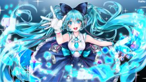 Rating: Safe Score: 17 Tags: dress hatsune_miku headphones numu signed vocaloid wallpaper User: charunetra