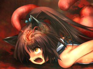 Rating: Explicit Score: 36 Tags: animal_ears extreme_content hitomaru loli nekomimi shrine tentacles User: Radioactive