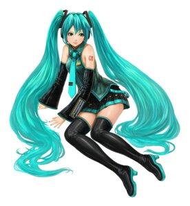 Rating: Safe Score: 15 Tags: fayse hatsune_miku thighhighs vocaloid User: gnarf1975