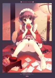 Rating: Questionable Score: 42 Tags: animal_ears maid pantsu santa_matsuri tail wa_maid User: Twinsenzw
