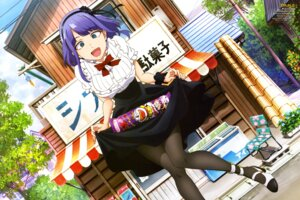 Rating: Safe Score: 42 Tags: dagashi_kashi heels pantyhose shidare_hotaru skirt_lift User: drop