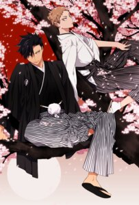 Rating: Safe Score: 10 Tags: haikyuu!! kimono kurobara kuroo_tetsurou male yaku_morisuke User: animeprincess