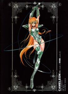 Rating: Questionable Score: 7 Tags: armor chameleon_june leotard saint_seiya tagme thighhighs weapon User: Radioactive