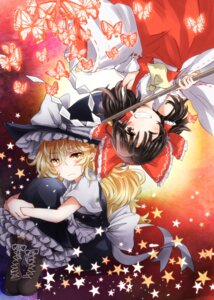 Rating: Safe Score: 17 Tags: hakurei_reimu kirisame_marisa miko tigern touhou witch User: Mr_GT