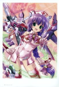 Rating: Questionable Score: 23 Tags: komatsu_e-ji mecha_musume mecha_nurse_girl_nana nurse pantsu thighhighs User: crim