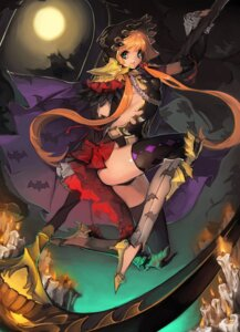 Rating: Questionable Score: 22 Tags: armor barogagi_(dlwnsrb007) halloween heels leotard no_bra thighhighs weapon User: Mr_GT
