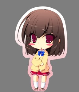 Rating: Safe Score: 8 Tags: all-time chibi ogawa_shizuka seifuku suki_de_suki_de_tamaranai transparent_png User: blooregardo