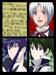 Rating: Safe Score: 4 Tags: allen_walker d.gray-man kanda_yu lenalee_lee signed User: Radioactive