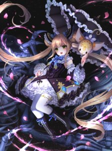 Rating: Safe Score: 26 Tags: gothic_lolita heels lolita_fashion luna_(shadowverse) pantyhose shadowverse tagme umbrella User: Mr_GT