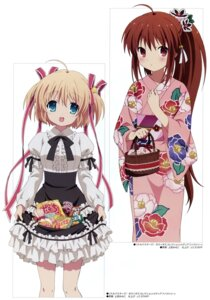 Rating: Safe Score: 48 Tags: dress kamikita_komari little_busters! natsume_rin ueda_mineko yukata User: Radioactive