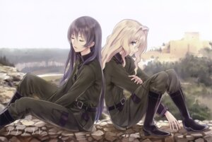 Rating: Safe Score: 27 Tags: filicia_heideman kazumiya_rio kishida_mel sora_no_woto User: Share