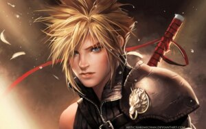 Rating: Safe Score: 24 Tags: advent_children cloud_strife final_fantasy final_fantasy_vii male sakimichan signed User: itsu-chan