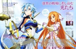 Rating: Safe Score: 37 Tags: akizuki_aya armor asuna_(sword_art_online) sinon sword sword_art_online sword_art_online_alicization weapon User: drop