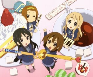 Rating: Safe Score: 18 Tags: akiyama_mio chibi hirasawa_yui horiguchi_yukiko jpeg_artifacts k-on! kotobuki_tsumugi pantyhose seifuku tainaka_ritsu User: acas