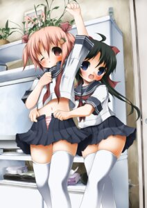 Rating: Questionable Score: 26 Tags: kyohei loli pantsu seifuku shimapan undressing User: blooregardo