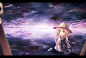 Rating: Safe Score: 23 Tags: ha_ru landscape moriya_suwako touhou User: aihost