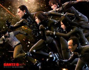 Rating: Safe Score: 18 Tags: blood bodysuit gantz gun sword User: gb40