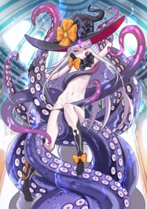 Rating: Questionable Score: 26 Tags: abigail_williams_(fate/grand_order) fate/grand_order pantsu panty_pull tentacles tonbo topless witch User: Nepcoheart