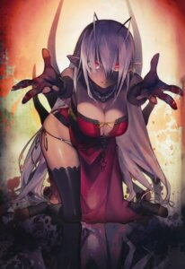 Rating: Questionable Score: 122 Tags: blood cleavage dress full_metal_daemon_muramasa namaniku_atk pantsu pointy_ears sansei_muramasa string_panties thighhighs User: Radioactive