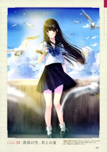 Rating: Questionable Score: 22 Tags: kazuharu_kina seifuku User: drop