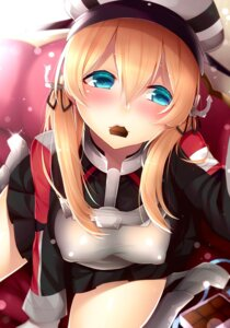 Rating: Questionable Score: 33 Tags: ayuteishoku erect_nipples heels kantai_collection prinz_eugen_(kancolle) uniform valentine User: mash